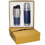 Tuscany™ Thermal Bottle & Tumbler Gift Set